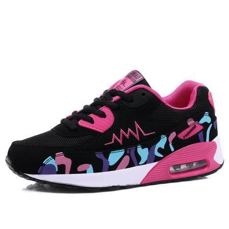 夏季韩版潮运动鞋女鞋平底厚底气垫鞋透气休闲学生跑步鞋板鞋单鞋