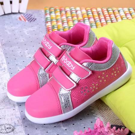2016新款儿童运动鞋 韩版时尚板鞋 女童百搭鞋休闲鞋小童鞋