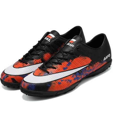  青少年足球鞋训练鞋室外防滑耐磨休闲鞋