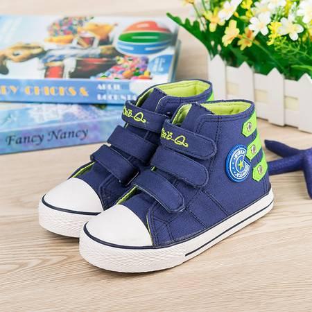 帆布鞋男童鞋女童韩版板鞋帅气单鞋
