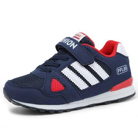 童鞋2016夏季男童鞋跑步鞋中大童鞋子透气网鞋儿童男鞋运动鞋