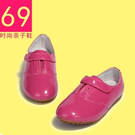 女童韩版潮公主儿童女童休闲鞋船鞋蛋卷单鞋
