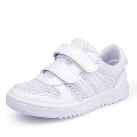 儿童透气网面鞋男童女童运动鞋小白鞋
