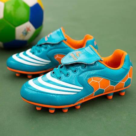 男童鞋2016新款夏季儿童足球鞋碎钉中大童钉子鞋男童运动鞋