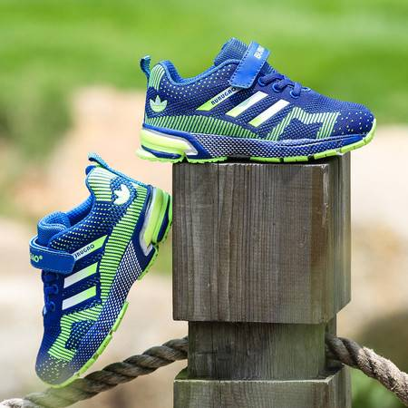 春季男童气垫跑步鞋亲子鞋夏季儿童运动鞋女童透气休闲鞋子网面鞋