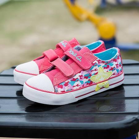 儿童帆布鞋男女2016新款潮低帮学生牛仔板鞋