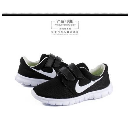 夏季必备儿童超轻跑步鞋透气小白鞋