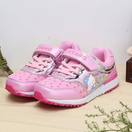  女童网鞋透气夏季网面女童运动鞋儿童鞋女童