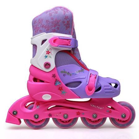 正品直排溜冰鞋酷腾儿童溜冰鞋男童女童闪光轮滑鞋全套旱冰鞋包邮