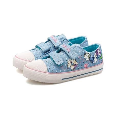 儿童帆布鞋女童布鞋板鞋2016女童鞋潮