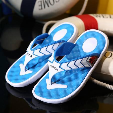 拖鞋新款休闲人字拖鞋男夏季耐磨凉拖鞋夹脚防滑沙滩鞋