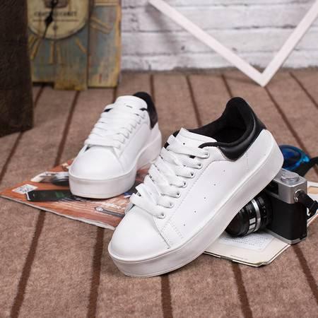 小白鞋女鞋冬季韩版潮运动鞋球鞋休闲鞋加绒板鞋