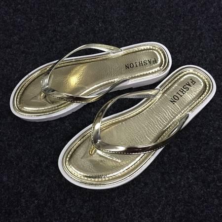 韩版人字拖女士学生简约平底浴室防滑沙滩男情侣夹板厚底拖鞋夏季