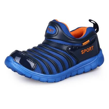 春新款儿童运动鞋毛毛虫春秋季透气网鞋女童鞋子休闲鞋跑步鞋男童