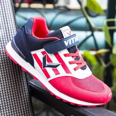 新款2016夏秋小孩女童鞋休闲网布面透气男大中童鞋儿童跑步运动鞋