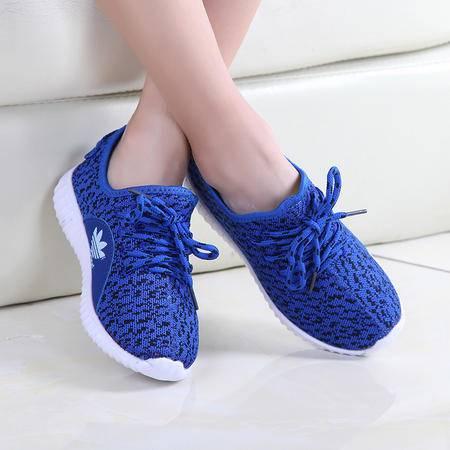 童鞋夏季男童透气网鞋飞织运动鞋女童防滑休闲网面鞋小孩鞋子