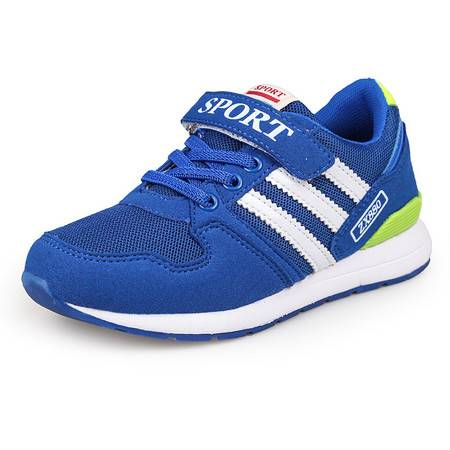 韩版儿童跑步鞋透气运动鞋男女童休闲网布鞋