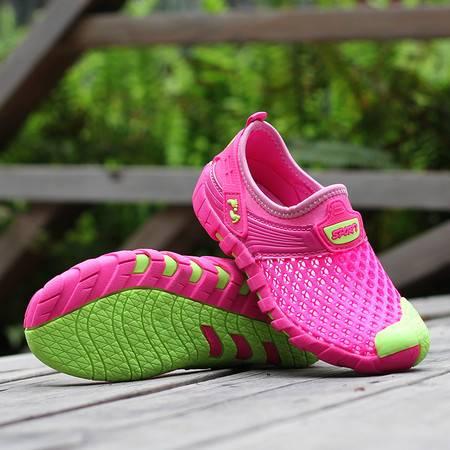 男童网鞋夏季男童鞋网面透气女孩休闲鞋单网眼镂空鞋儿童运动鞋潮