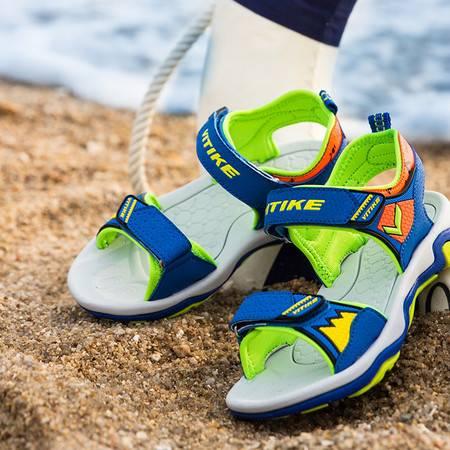 夏季男童凉鞋 儿童凉鞋中大童沙滩鞋潮