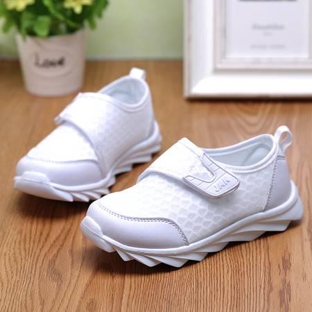 男童春季单鞋女童网布鞋2016超轻透气儿童透气运动鞋