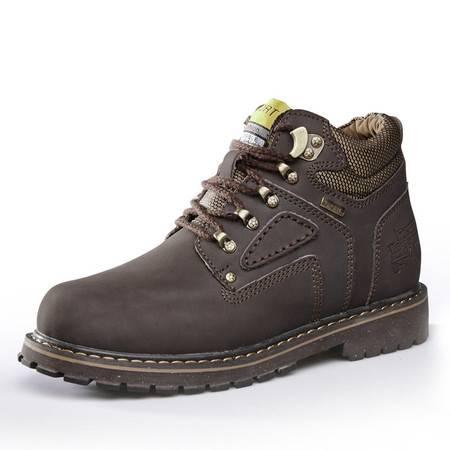 秋季新款高帮鞋男工装靴短靴英伦风潮流马丁靴男靴子军靴大码男鞋