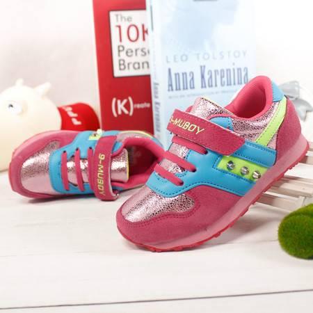 儿童运动鞋 春秋男童女童透气中大童休闲鞋