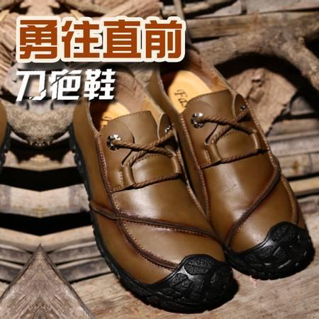 夏季英伦透气大门皮鞋黑白平跟新款圆头情侣系带编织男低帮鞋