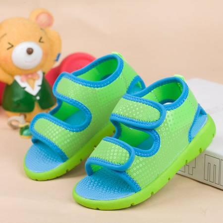 童鞋夏季护脚机能鞋男女小童沙滩鞋露趾