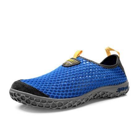 夏季男士网鞋情侣网布鞋透气休闲运动鞋网眼男鞋子夏天懒人旅游鞋