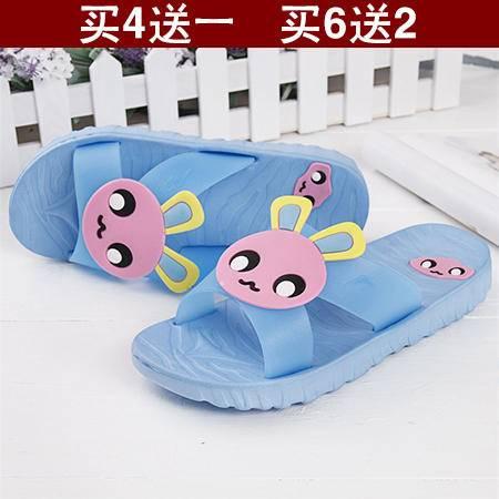 塑料浴室拖鞋女士夏季拖鞋 可爱浴室居家居凉爽防滑拖鞋