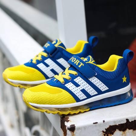 男女童鞋春秋网鞋气垫运动鞋男女童气垫跑步鞋