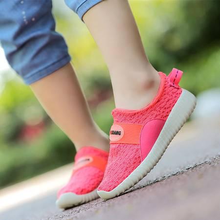 男女童网面休闲鞋夏季网布运动鞋男女童透气网鞋