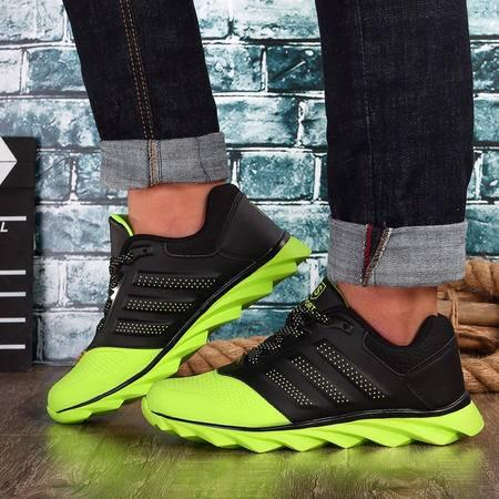 男鞋夏季休闲鞋男板鞋潮流跑步鞋男减震男士运动鞋男透气网面鞋子