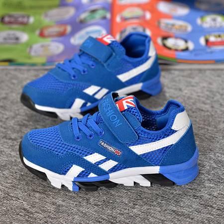 新款夏季童鞋潮流运动鞋男童韩版女童网鞋流行中大童板鞋宝宝跑鞋