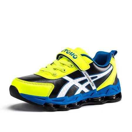 2016秋季男童弹簧鞋儿童运动鞋中大童跑步鞋