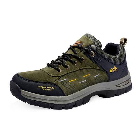 新款情侣登山鞋男式防滑耐磨透气鞋女式跑步运动鞋男士休闲登山鞋