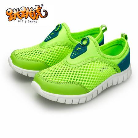 夏季网鞋单鞋户外男女鞋注塑软底中鞋休闲运动透气新款童