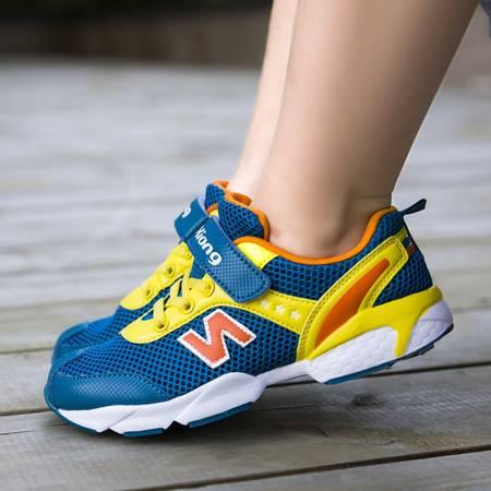 夏季镂空男童鞋女童N字运动鞋单网鞋超轻便