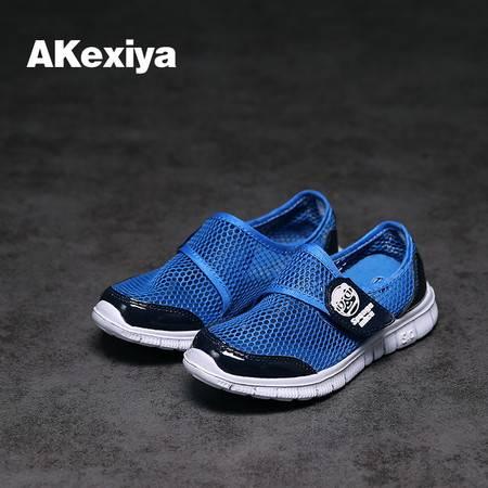 秒杀新款外贸原单夏季款舒适透气运动韩版跑步鞋潮流儿童男女童鞋