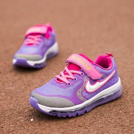 新款减震春季男童中童童鞋跑步鞋气垫运动鞋