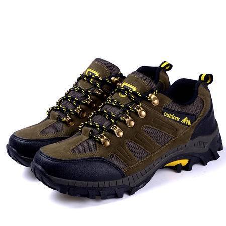 2016春夏防水登山鞋男士透气轻便户外鞋耐磨徒步鞋男鞋旅游鞋