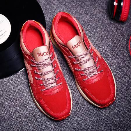 2016夏季新款男鞋透气阿甘运动休闲鞋跑步鞋韩版板鞋林弯弯潮男鞋