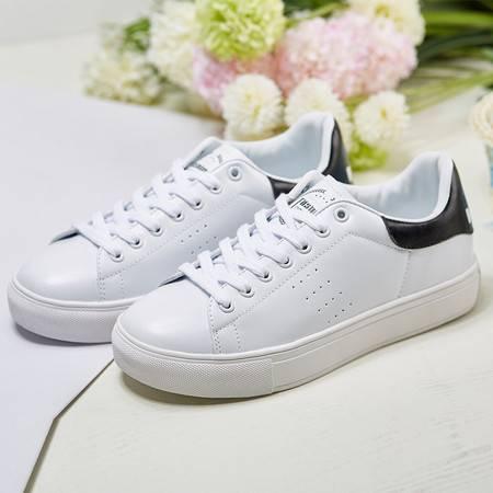 夏季休闲运动鞋女单鞋厚底韩版小白鞋松糕鞋女鞋学生潮鞋