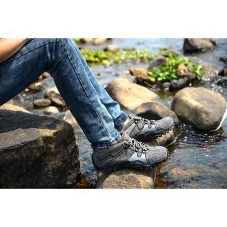 夏季新款休闲鞋男鞋子透气网布鞋网眼户外登山运动网鞋男士潮鞋