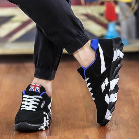 春夏季排球鞋怀旧经典款训练鞋跑步鞋休闲运动男鞋防滑篮球鞋 男