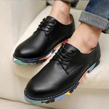 韩版增高鞋男鞋夏季潮鞋透气休闲皮鞋男帅气夜店发型师黑色皮鞋子