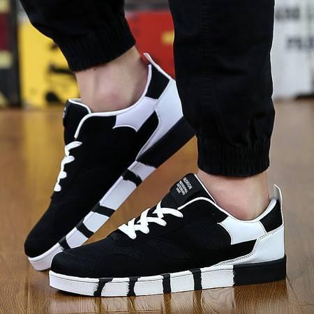 春季帆布鞋男单鞋透气男鞋子布鞋青年男士休闲鞋学生板鞋潮鞋秋季