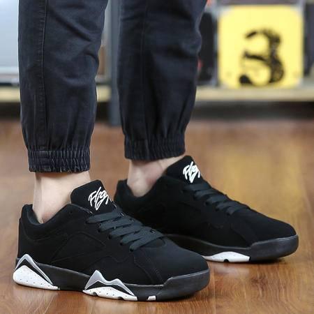 春夏季男士高帮鞋休闲韩版男鞋子运动板鞋潮流透气跑步学生情侣鞋