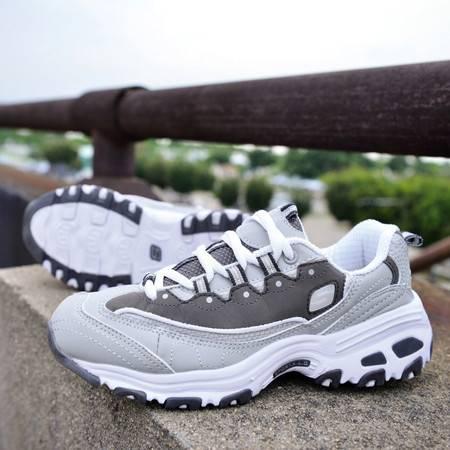 韩国明星同款黑白熊猫鞋女时尚休闲厚底运动潮鞋