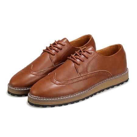 春季新款男鞋子系带韩版伐木鞋子休闲青年潮流鞋时尚板鞋子